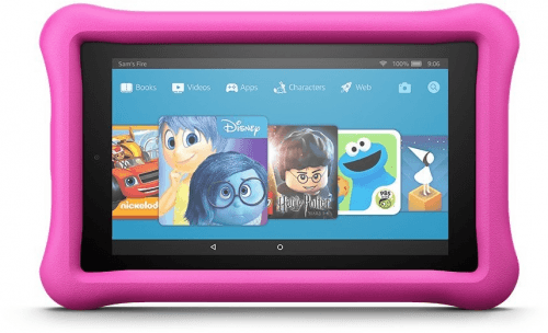 Picture 2 of the Amazon Fire 7 Kids Edition 2017.