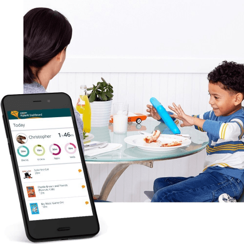 Picture 3 of the Amazon Fire 7 Kids Edition 2017.