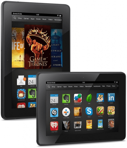 Picture 1 of the Amazon Kindle Fire HDX 7.