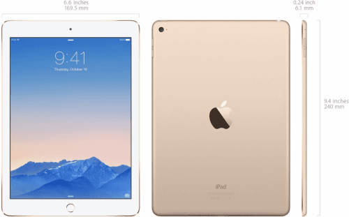 Picture 3 of the Apple iPad Air 2.