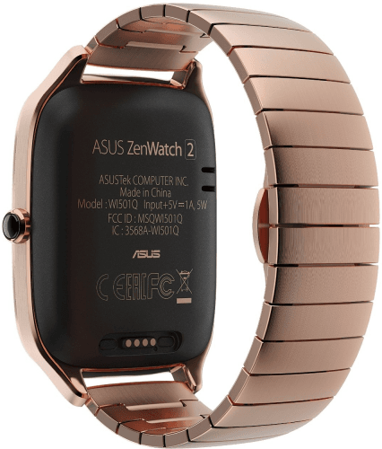 Picture 1 of the Asus ZenWatch 2 Men.