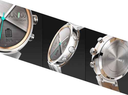 Picture 2 of the Asus Zenwatch 3.
