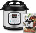 The Becooker 6Qt Electric Pressure Cooker.