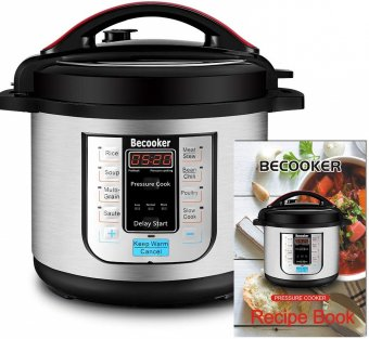 Becooker 8Qt Electric Pressure Cooker