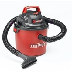 Craftsman Portable Wall Mount Wet or Dry Vacuum