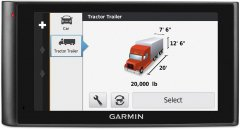 The Garmin DezlCam LMTHD, by Garmin