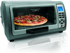 The Hamilton Beach Easy Reach Toaster Oven, by Hamilton Beach