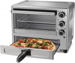 The Oster Toaster Oven with Pizza Drawer, by Oster