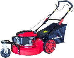 Powersmart 20-inch 3-in-1 196cc gas self propelled mower