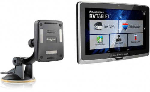 Picture 1 of the Rand McNally RV Tablet 70.