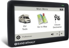 The Rand McNally RVND 7730LM, by Rand McNally