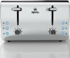The Royal Stainless Steel 4-Slice, by Royal