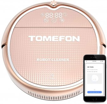 The Tomefon Robotic Vacuum Cleaner, by Tomefon
