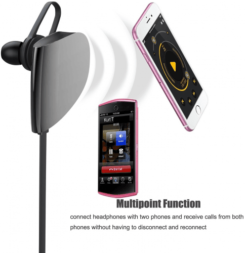 Picture 2 of the Vomach Bluetooth Earphones.