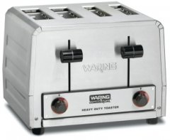 Waring Commercial Heavy-Duty 4-Slot Combination Bread and Bagel